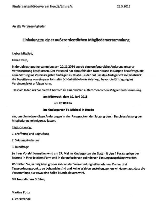 archiv 2015, Einladung